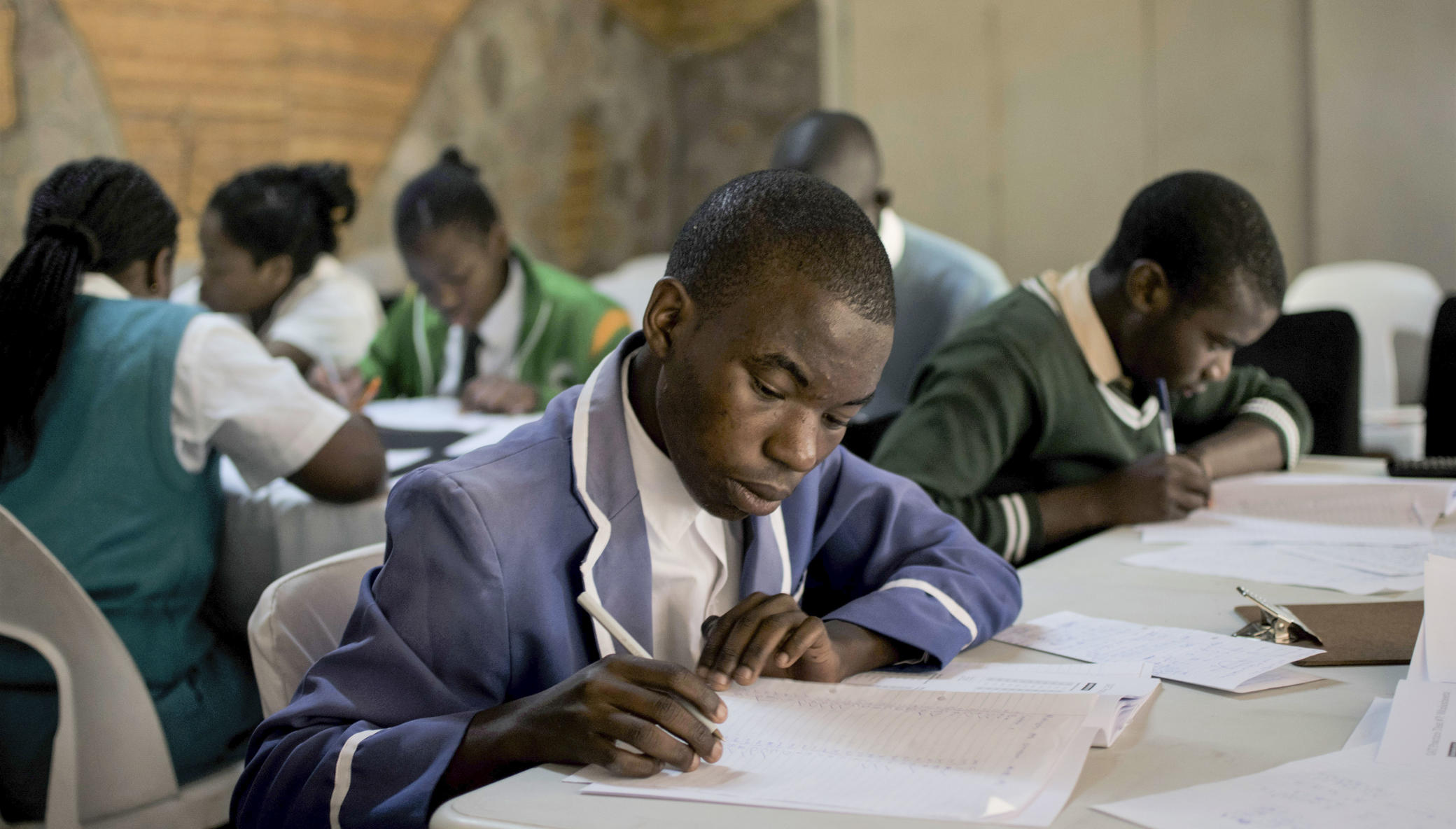 Build the USAP Community School in Zimbabwe