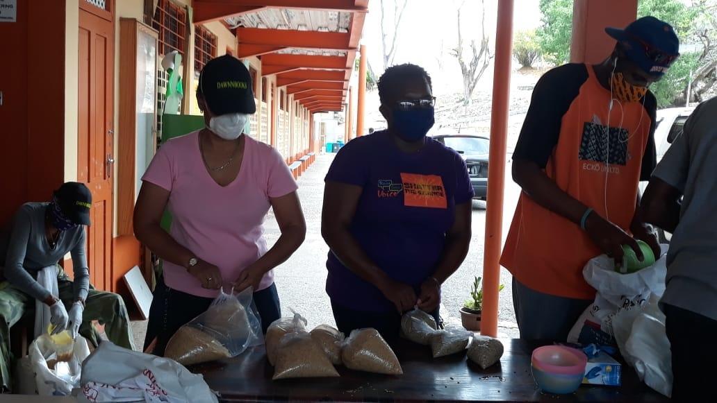Covid-19 Emergency Food Box Program in St Lucia
