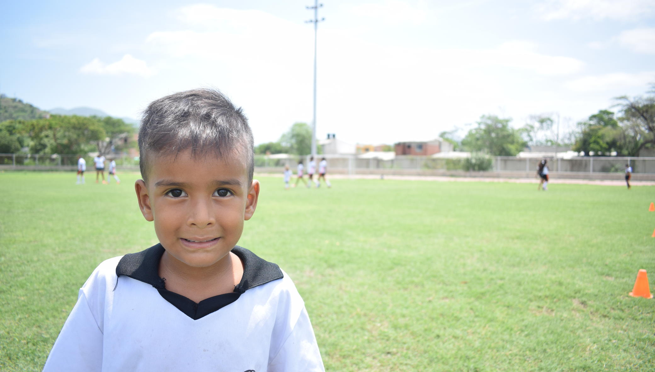 Creating a haven for kids through football and art