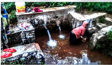DRINKING WATER SUPPLY PROJECT AT  RUGERO SCHOOL