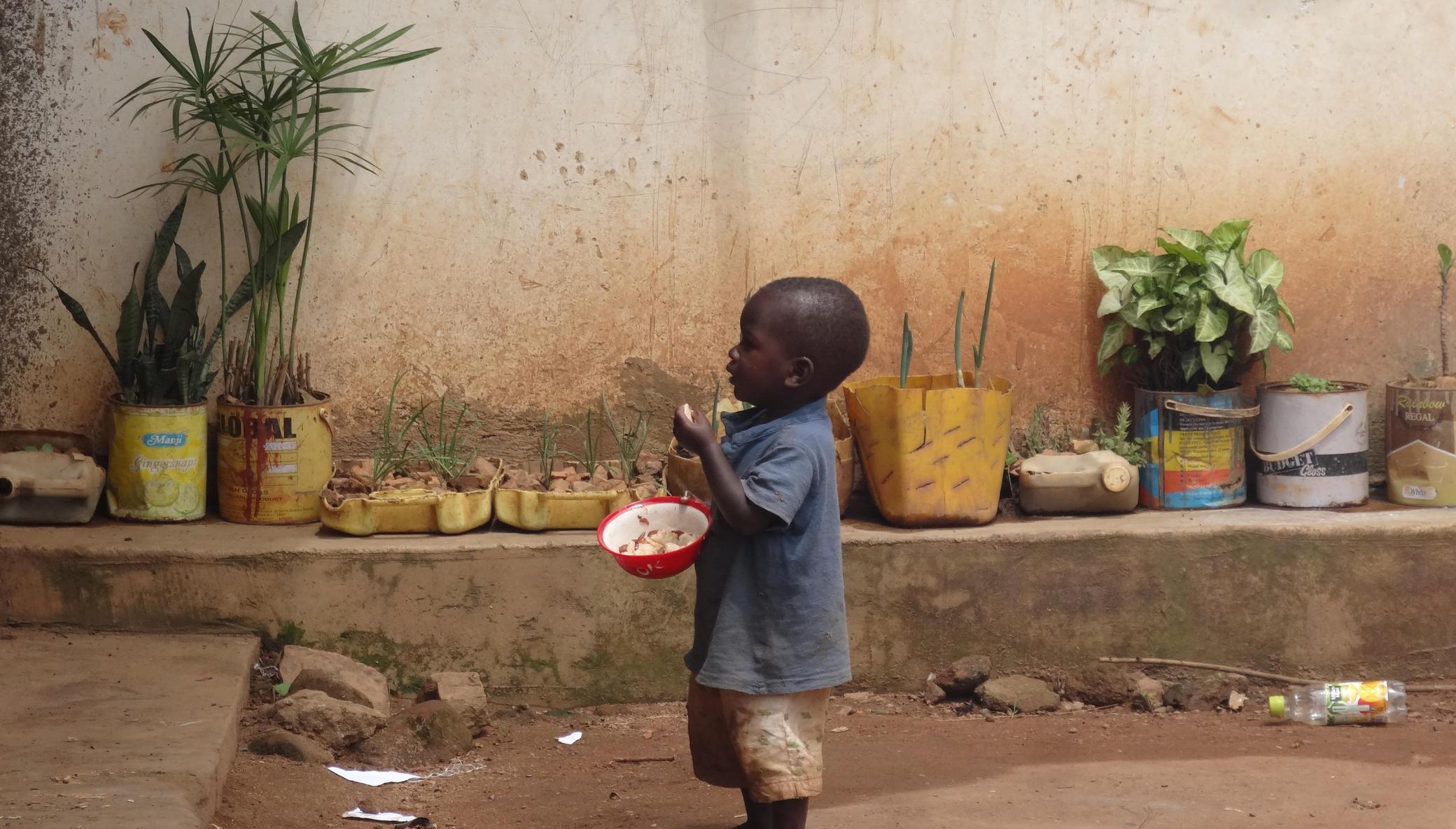 Daily porridge for 750 Infants in Northern Uganda