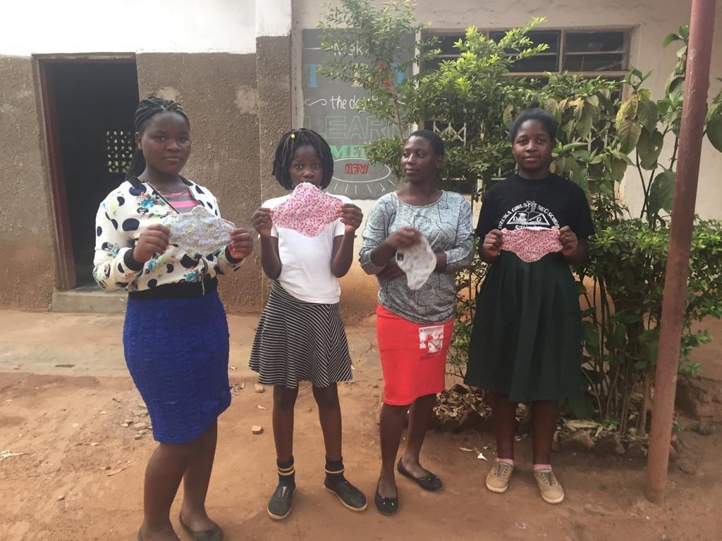 EMPOWERING 800 SCHOOL GIRLS HYGIENE IN LILONGWE