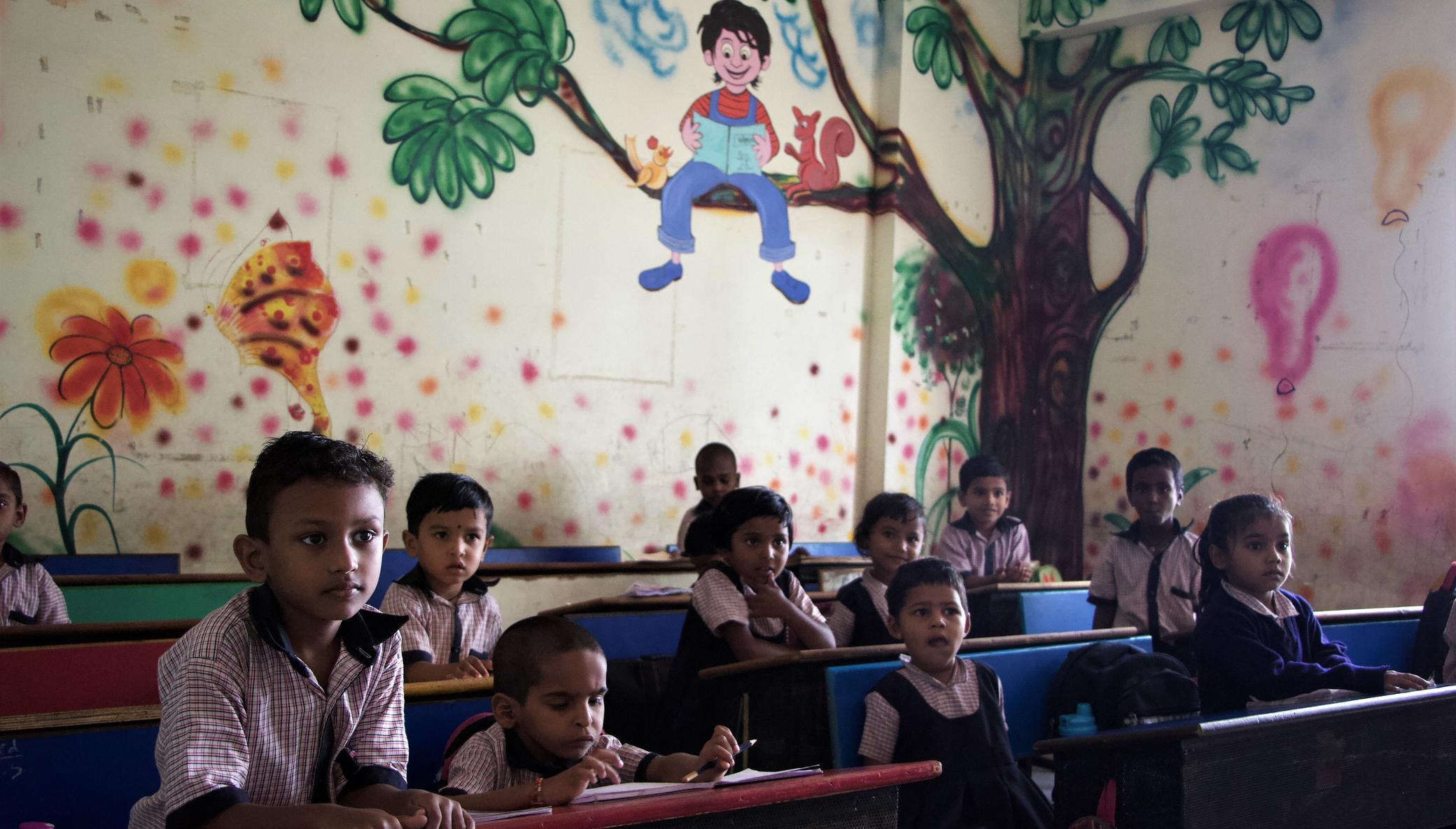 Educate street children in rural India
