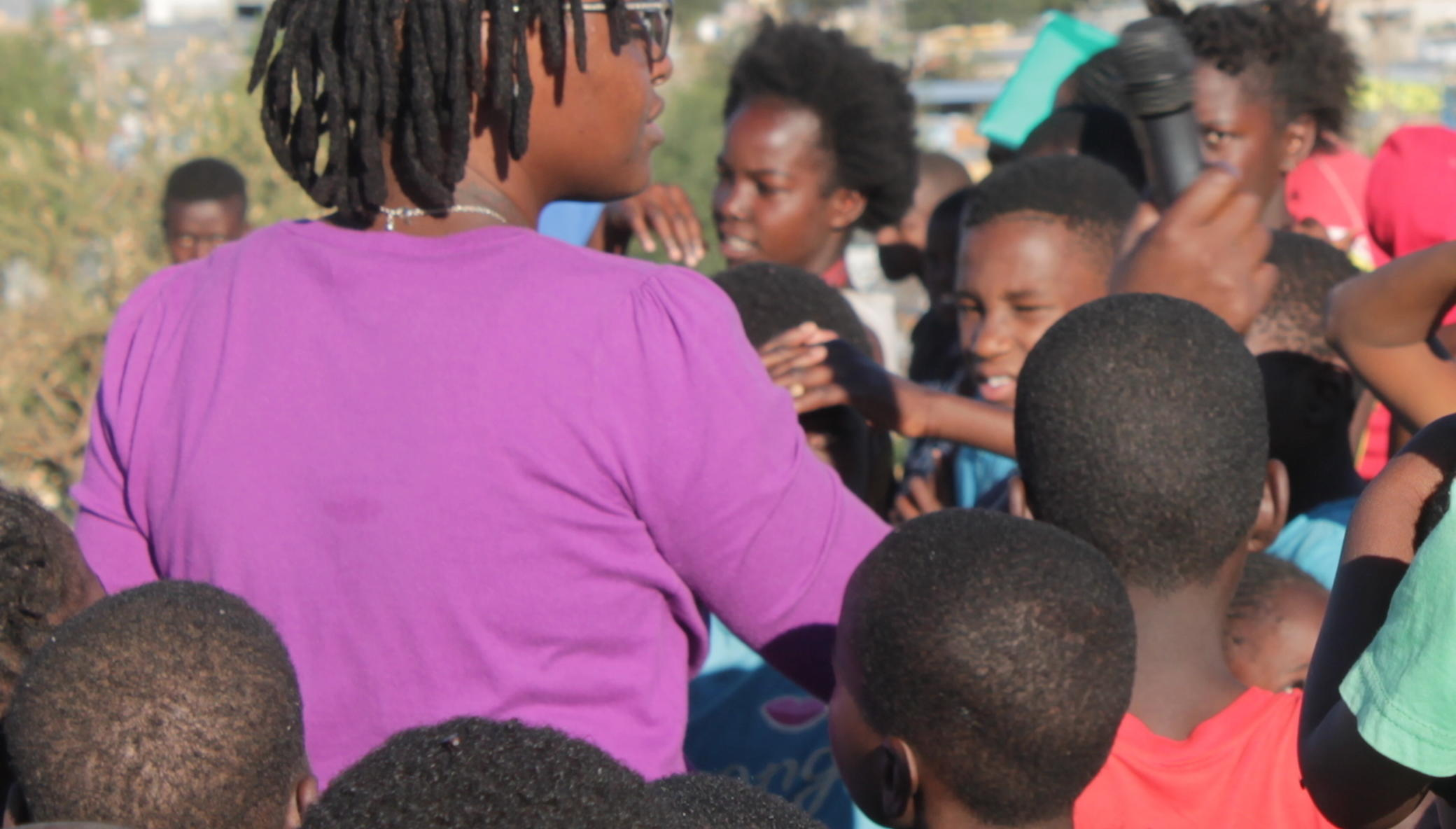 Educate 10000 Namibian teenagers on HIV using Arts