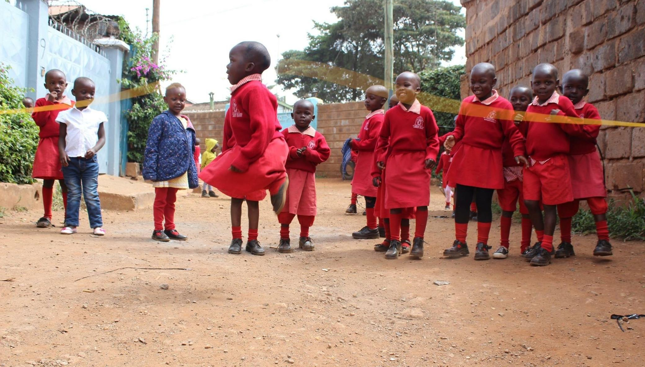 Educate and Feed 85 At-Risk Kids in Kibera, Kenya