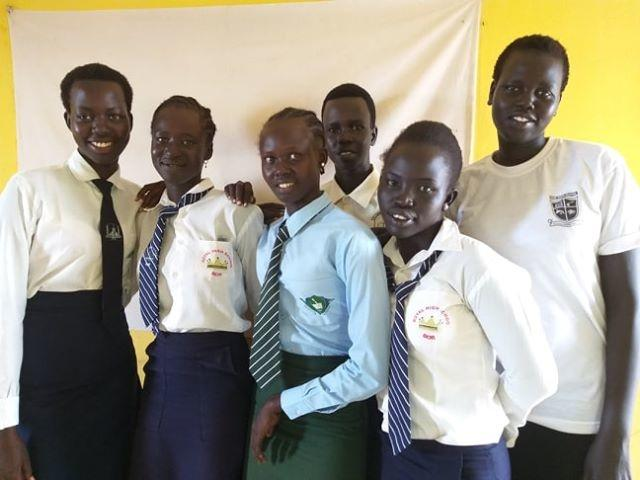 Educating Girl Groups in South Sudan