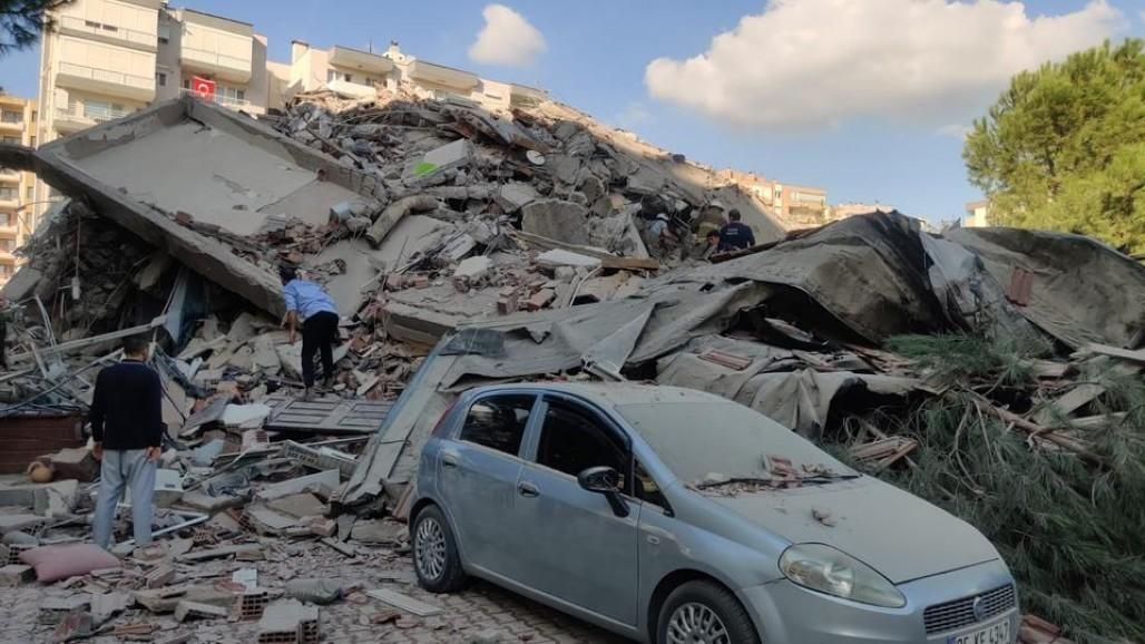 Emergency Response for Izmir Earthquake Survivors