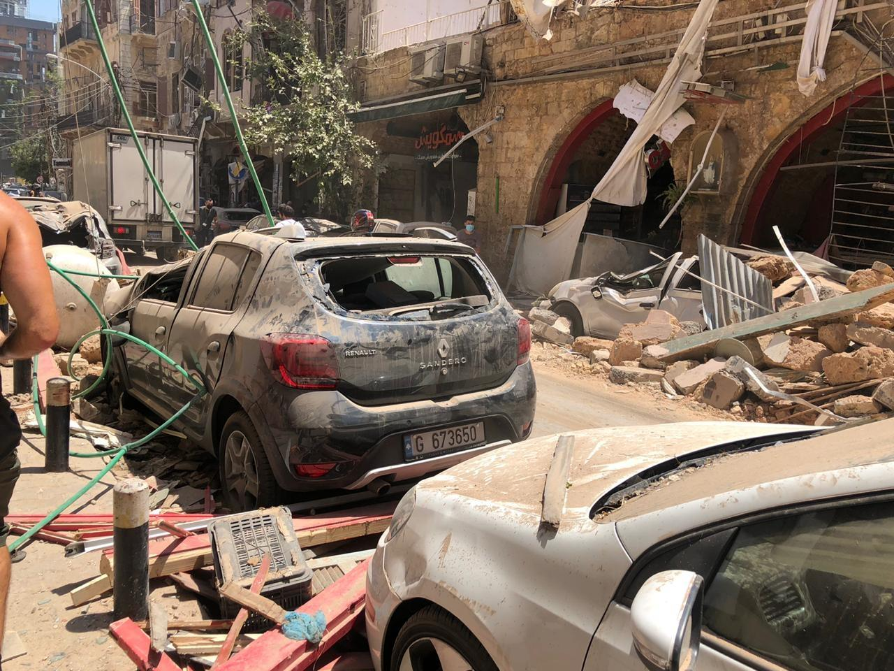 Emergency Response to Explosion in Lebanon