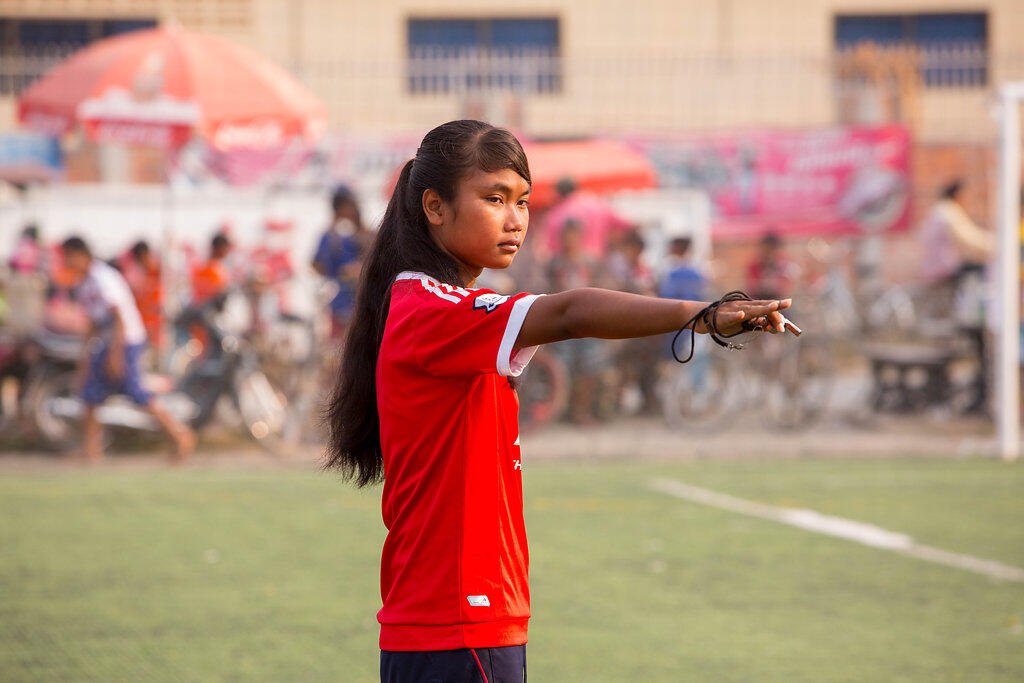 Empower Young Women in Cambodia Through Sport