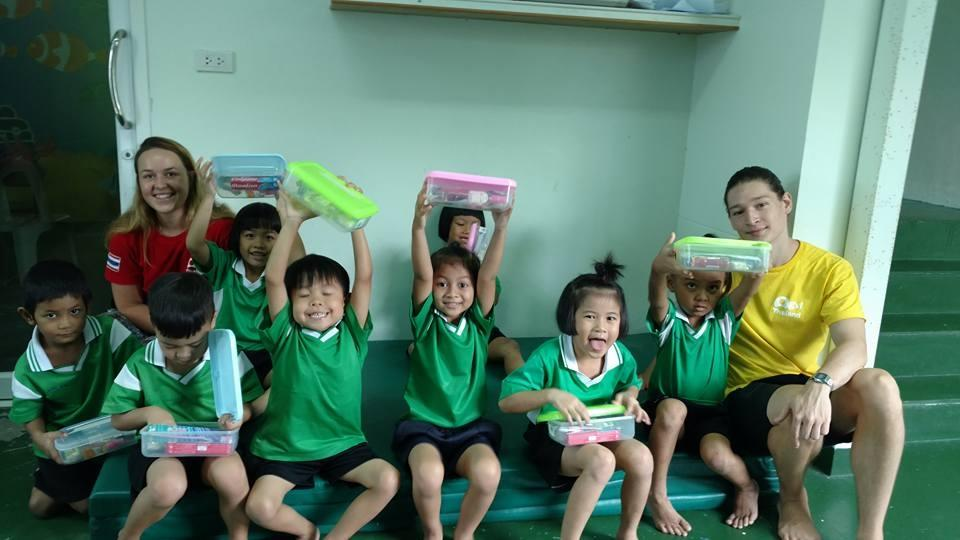 Teaching Children to fight Poverty in Thailand