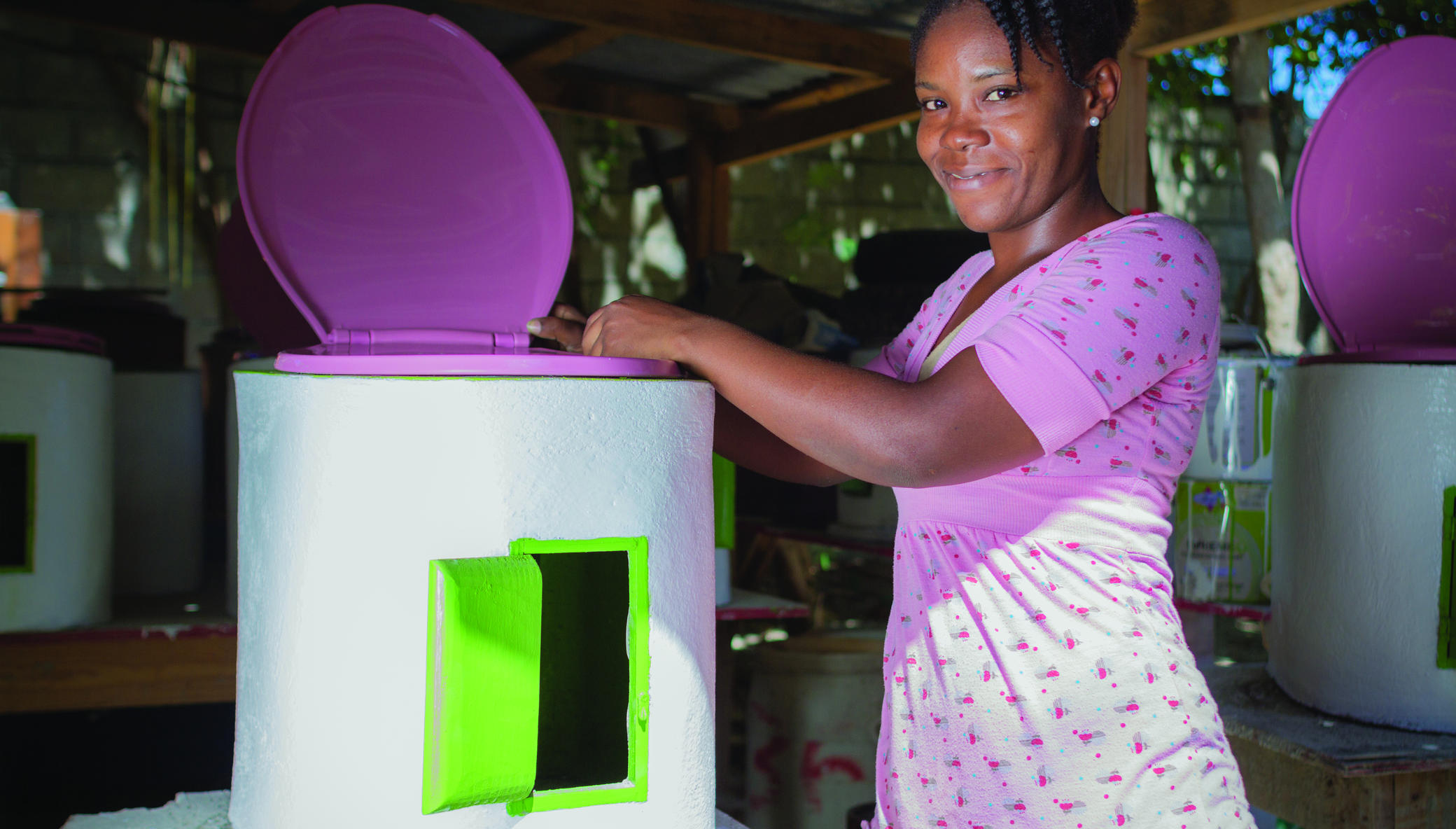 Expanding Climate-Positive Sanitation in Haiti