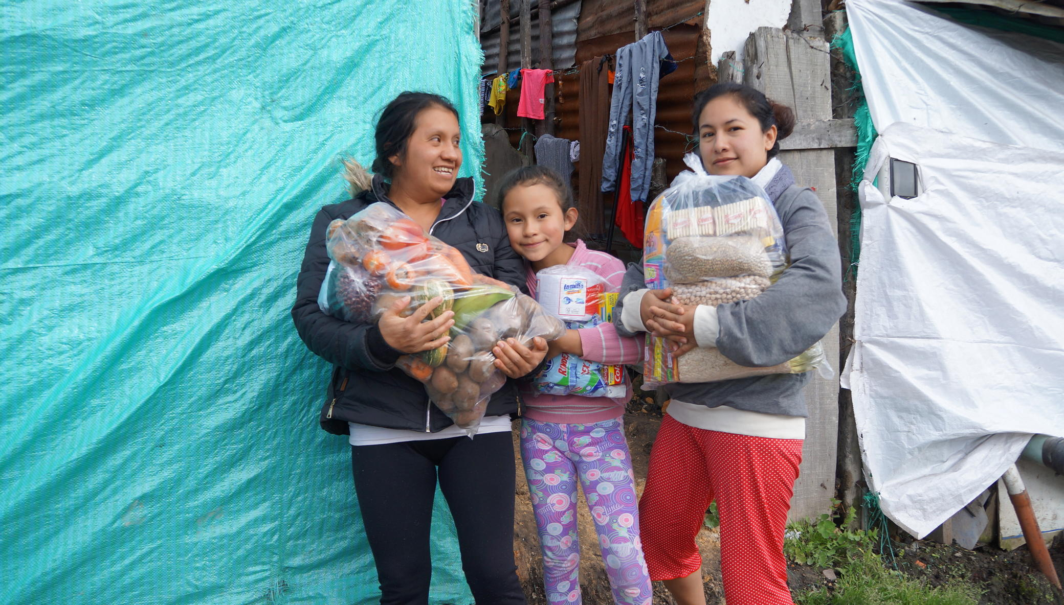 Food Aid to help Vulnerable population of Bogota