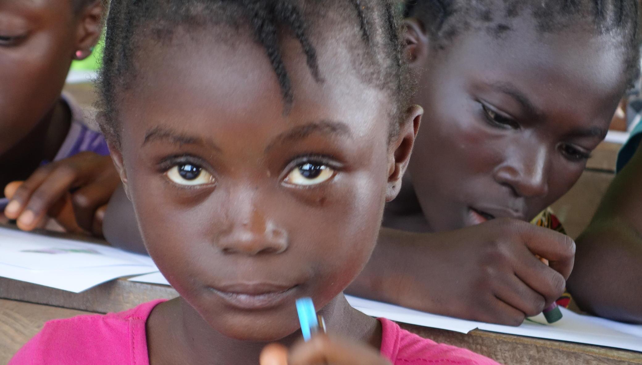 Give Liberian Children Healthcare, Education, HOPE
