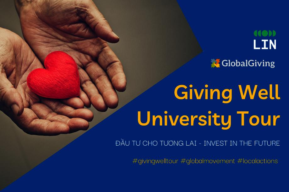 Giving Well University Tour - Invest in the Future