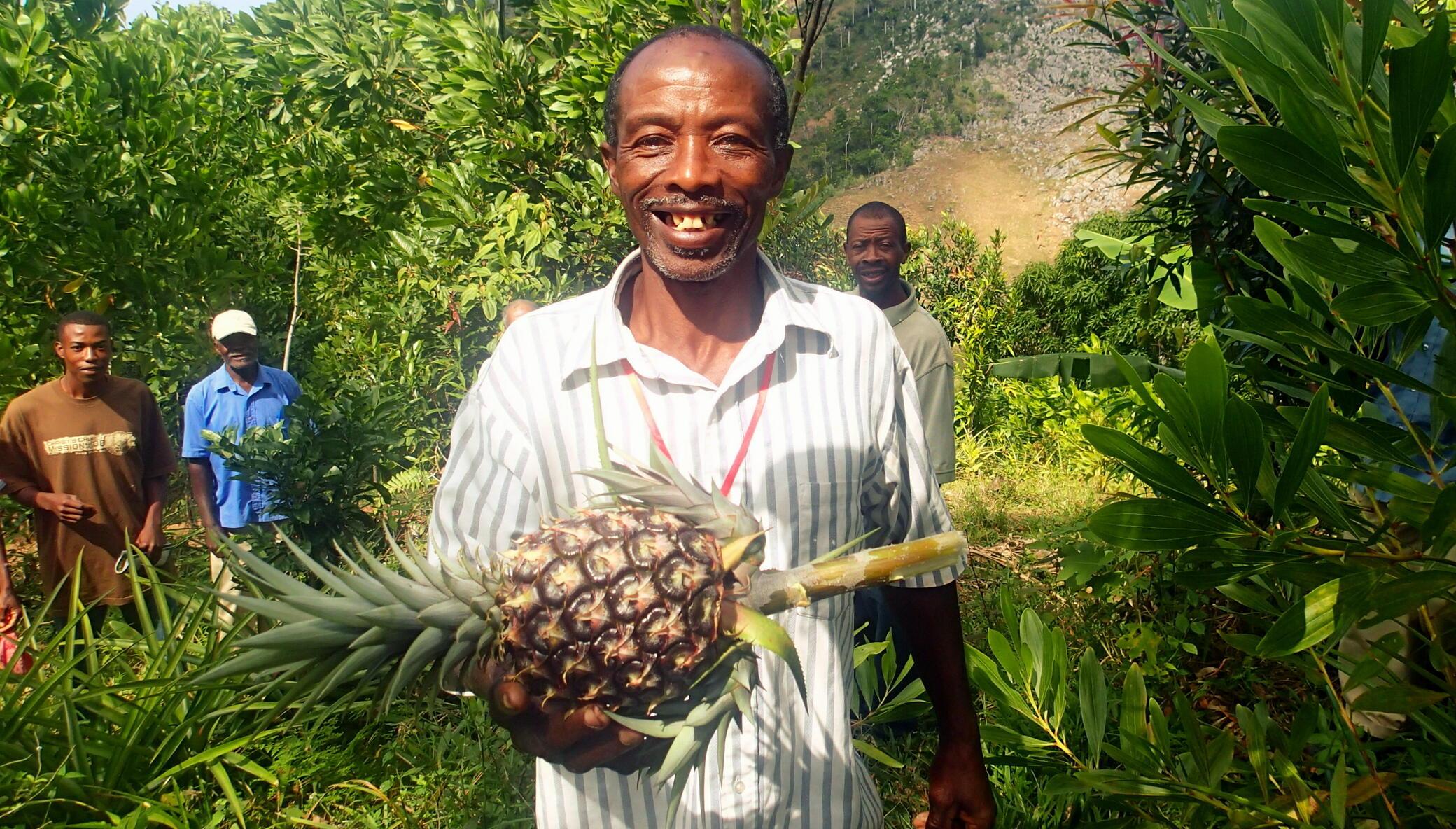 Help Families Grow their Own Food in Rural Haiti