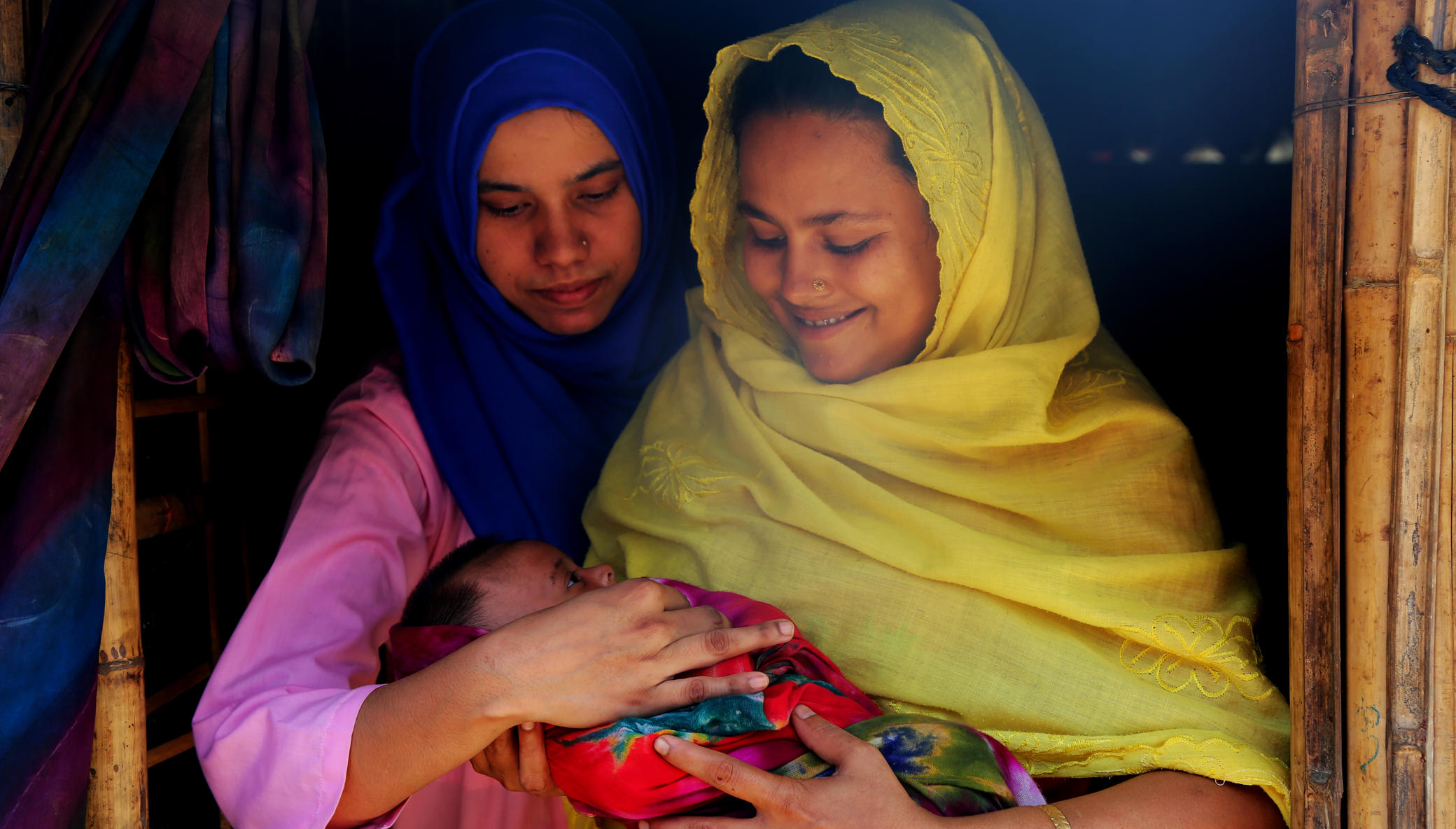 Help Rohingya Refugees Become New Moms Safely