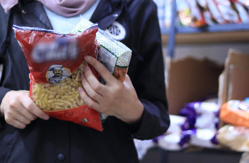 Help families in Tripoli to fill their food basket