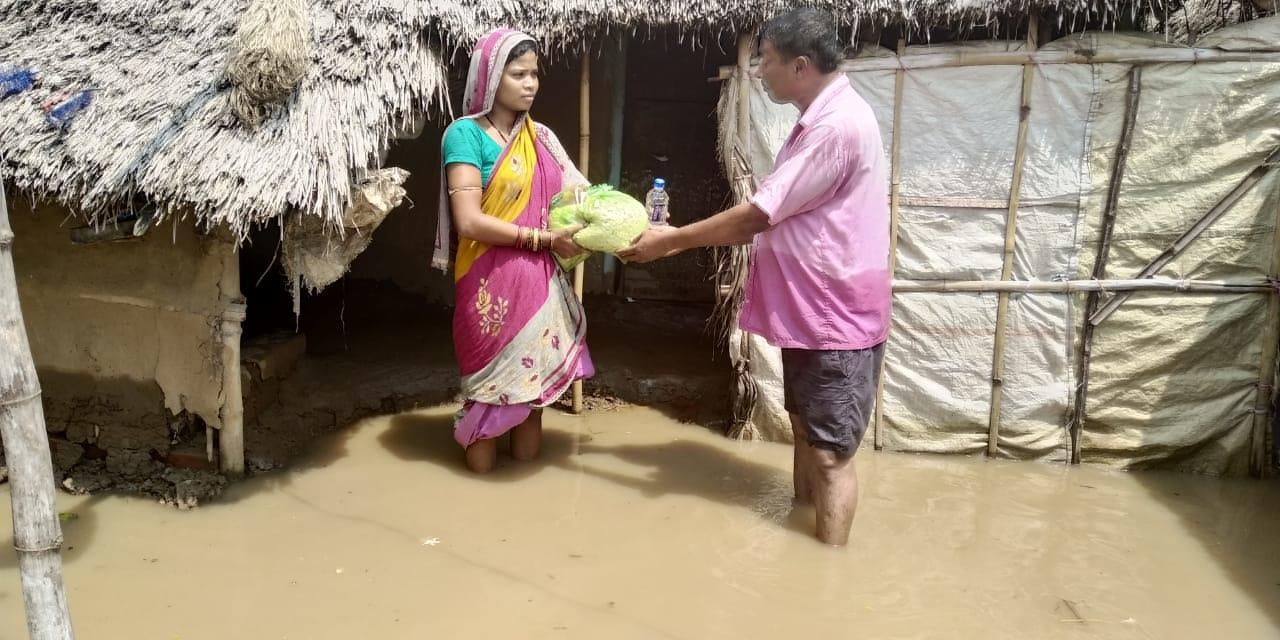 Help flood devastation recovery in Odisha, India