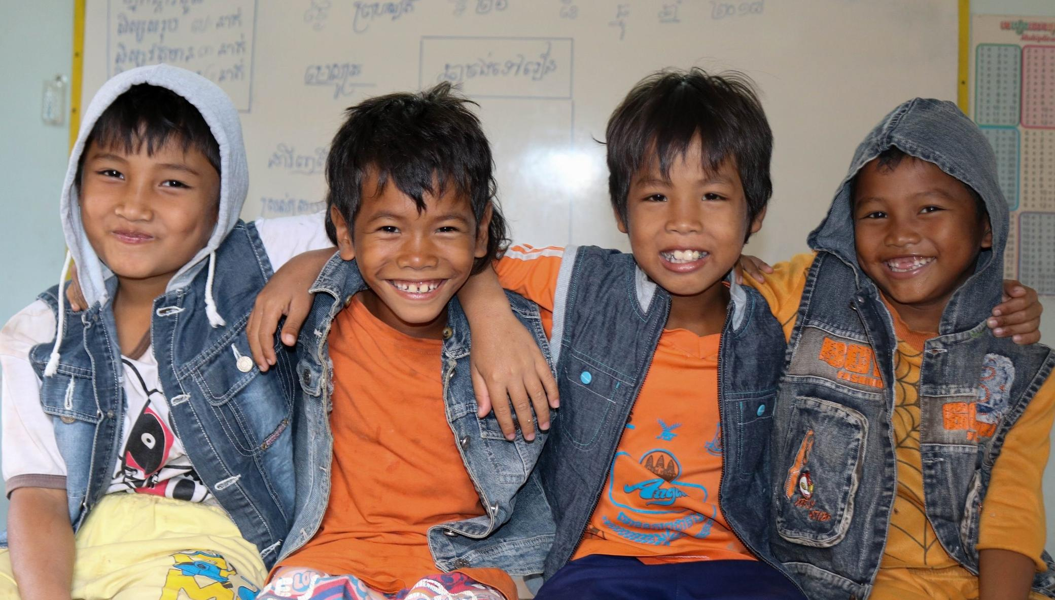 Helping Cambodian Children at M'Lop Tapang