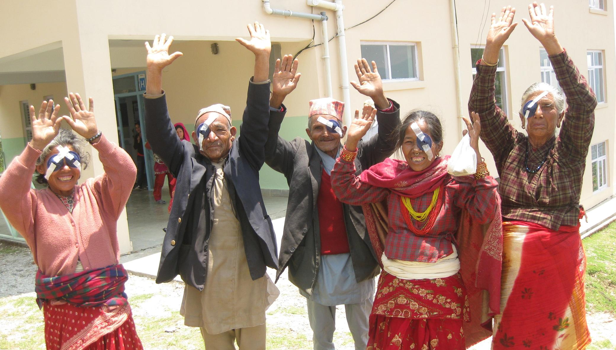 Himalayan Cataract Project: Remote Eye Camps
