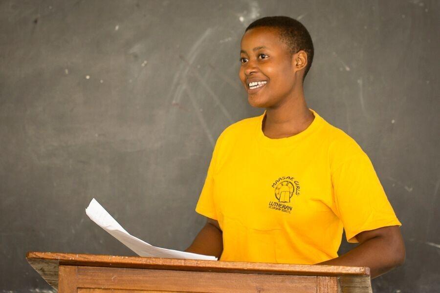 Life-Changing Training for Tanzanian girls
