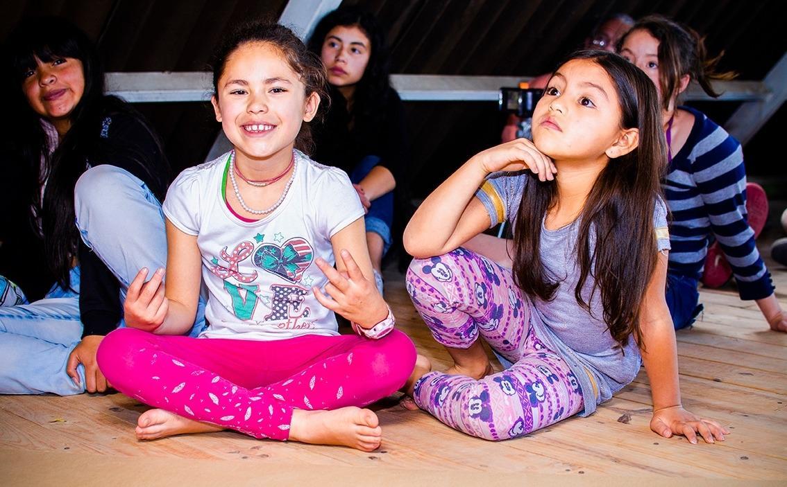 Love, food, education for 100 children in Bogota