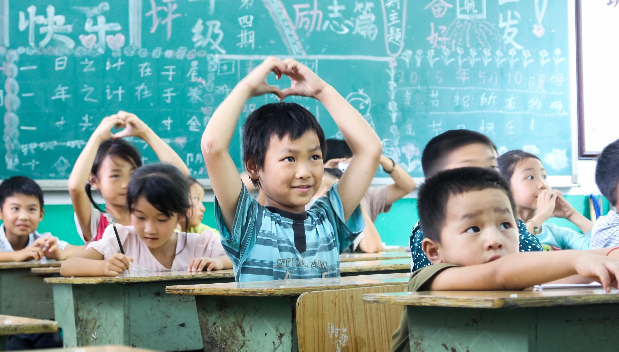 Mental Health Education for 5,000 Kids in China
