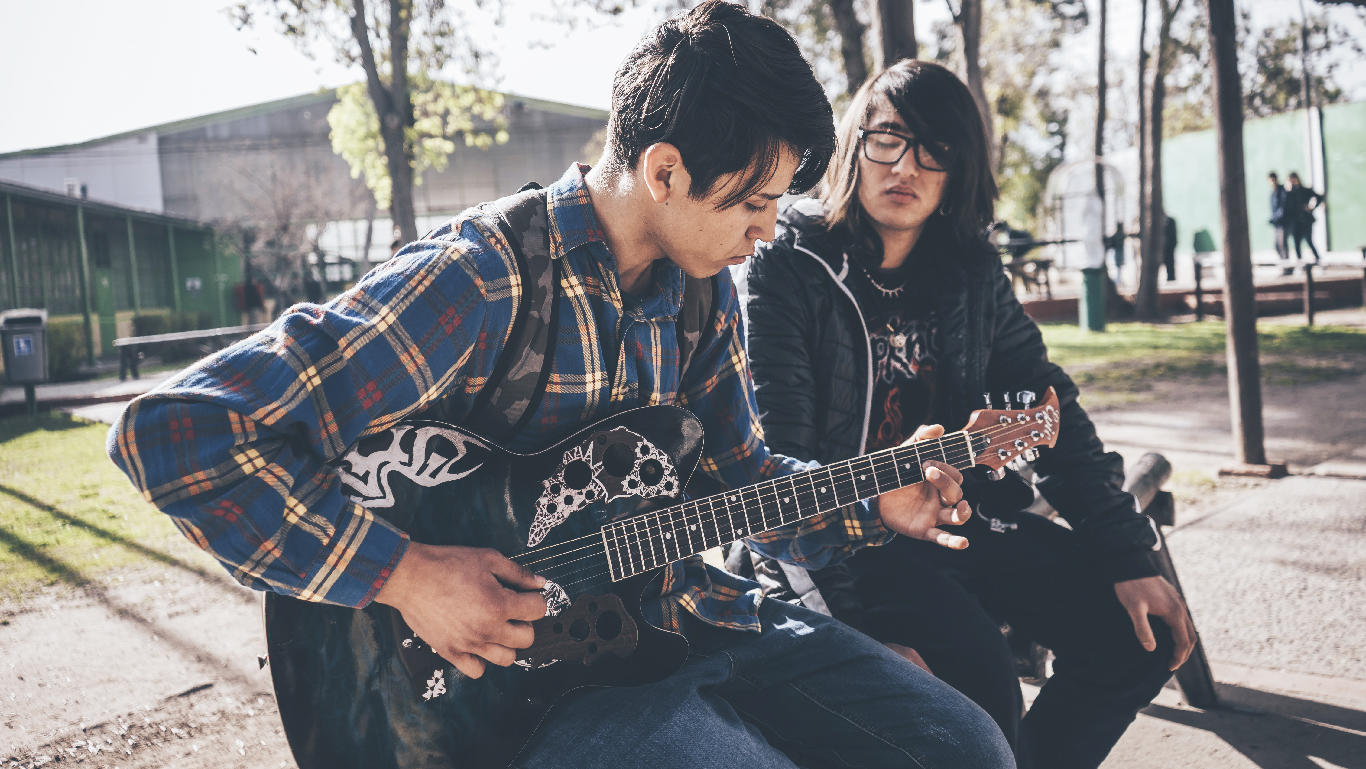 Motivate and empower teenagers through music