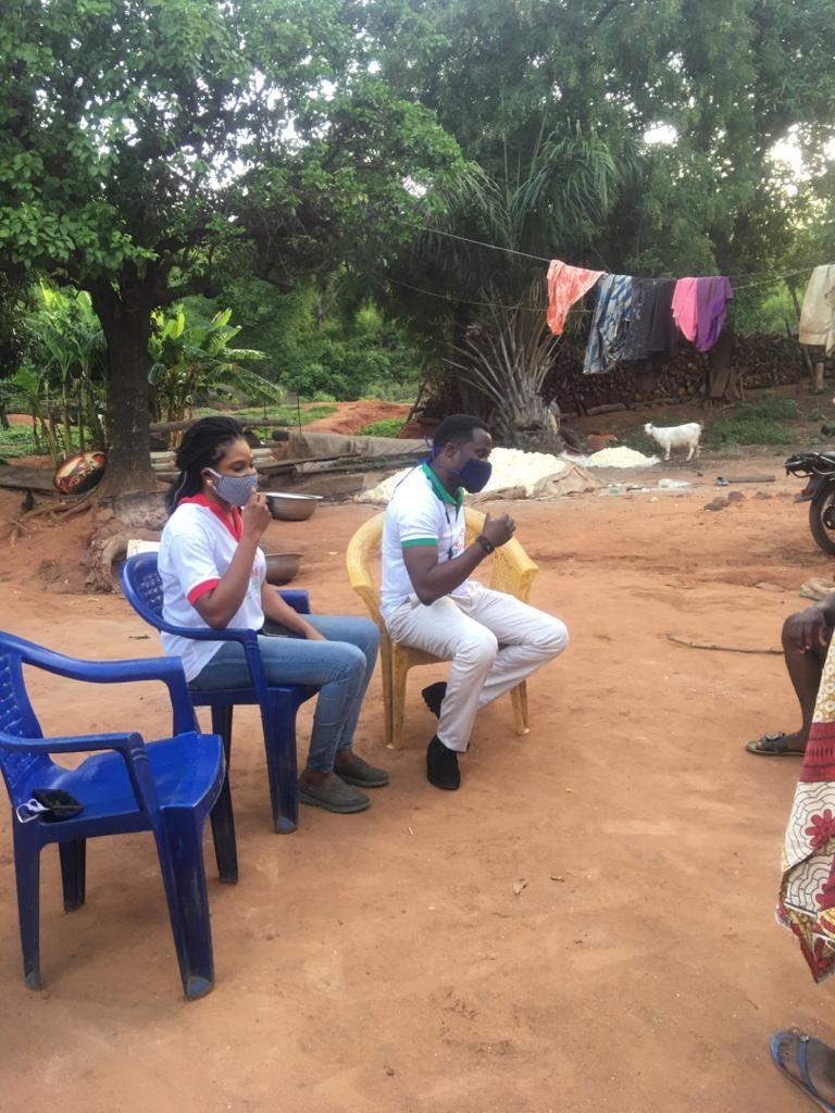Provide Cassava milling machine for 120 Farmers