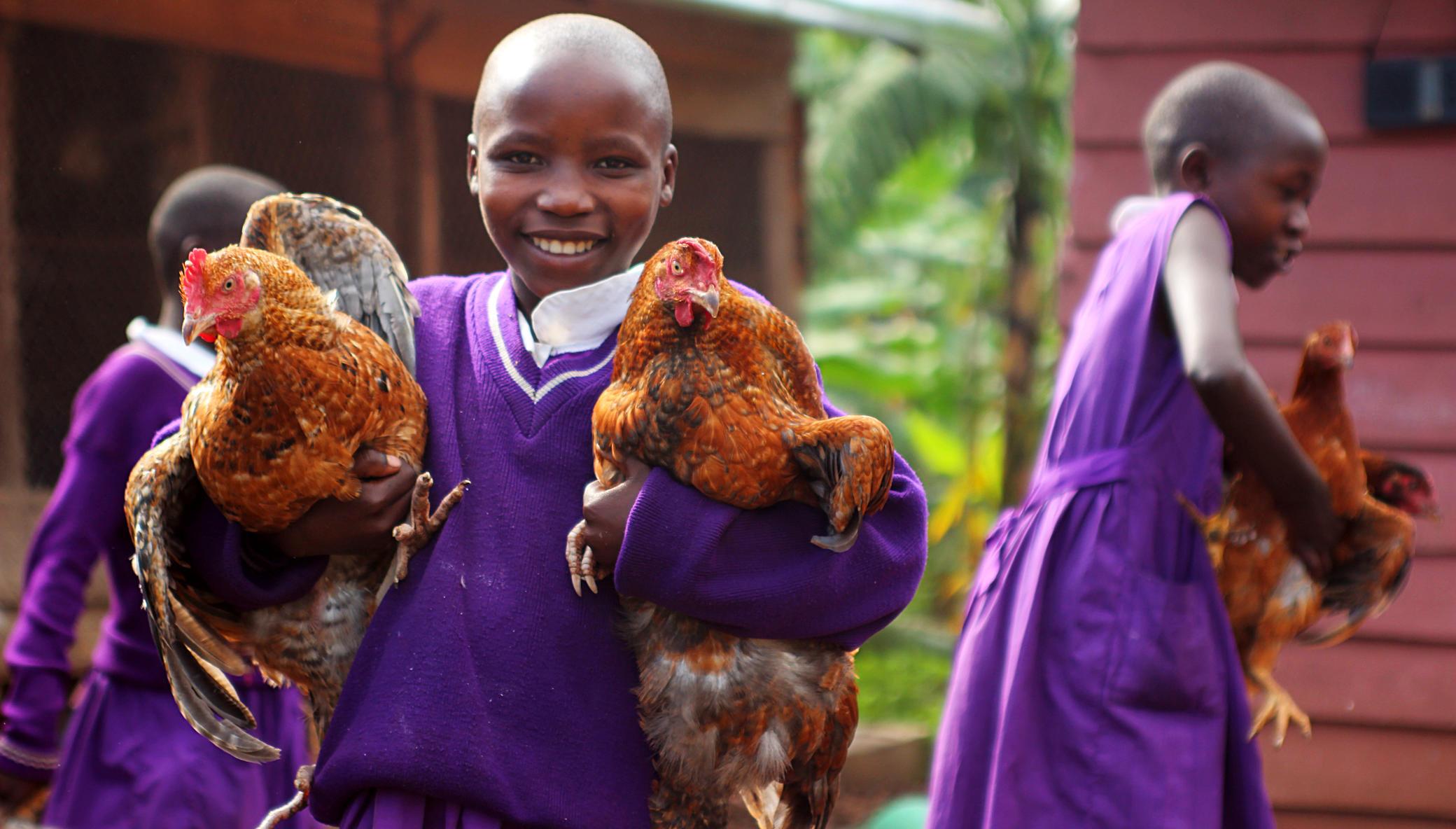 High quality education for children in Uganda