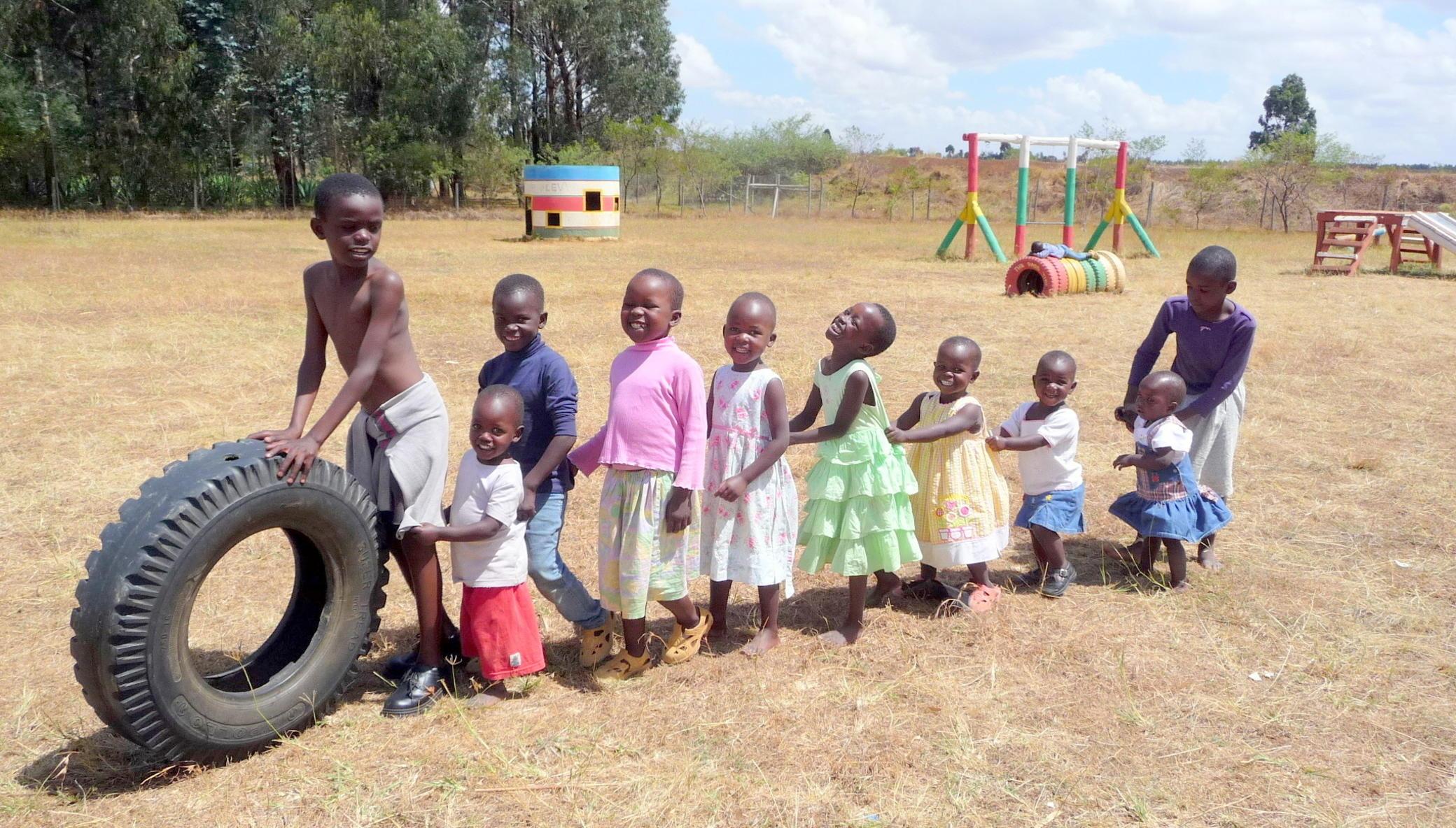 Provide a loving home for orphans in Kenya