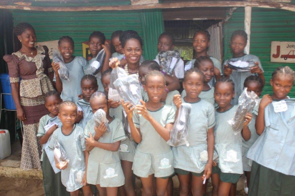 Provide a quality education for girls in Liberia