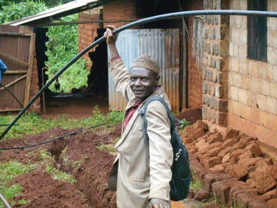 Provide clean water to the rural community