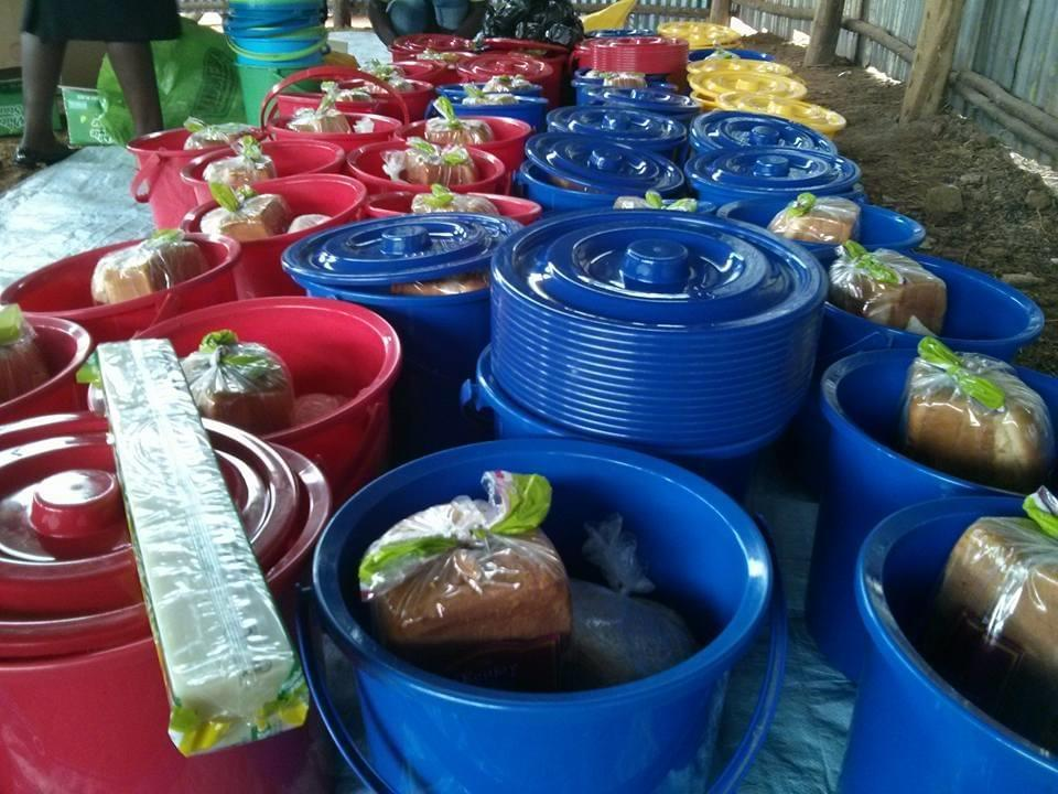 Provide food support to 50 vulnerable families
