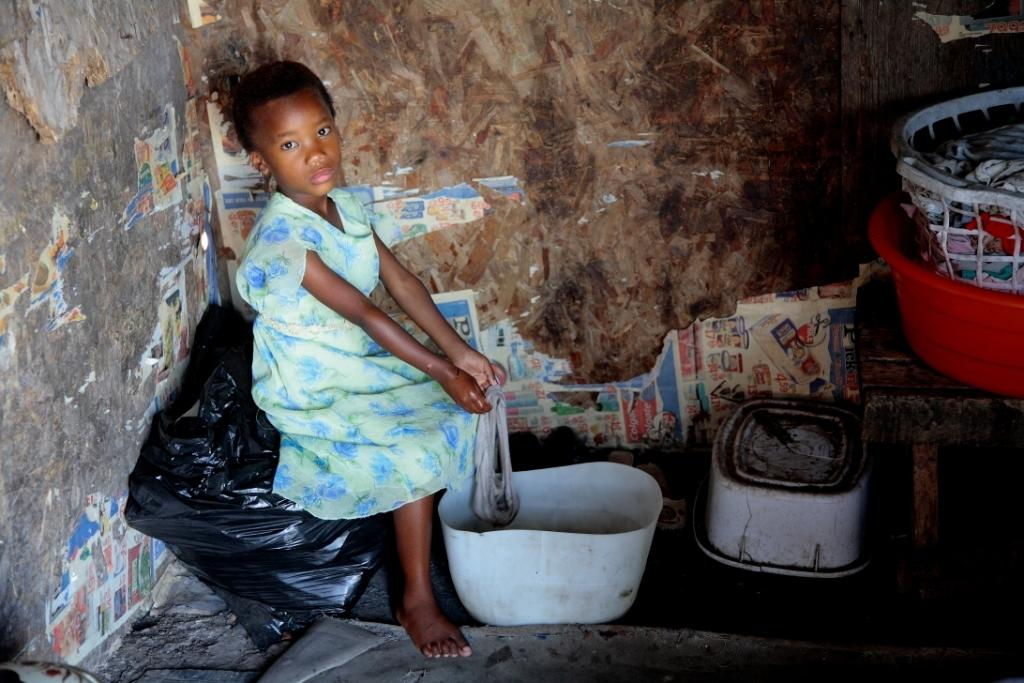 Provide nutrition for 500 families in South Africa