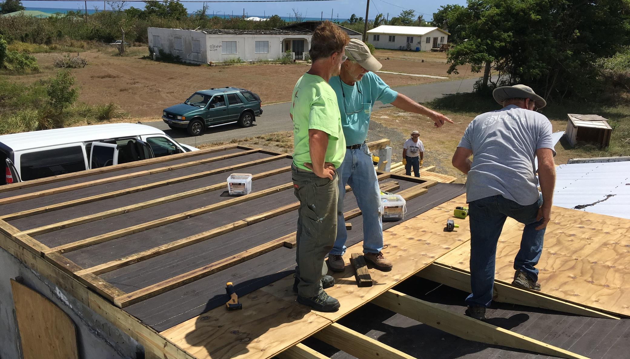 Rebuilding St. Croix, USVI