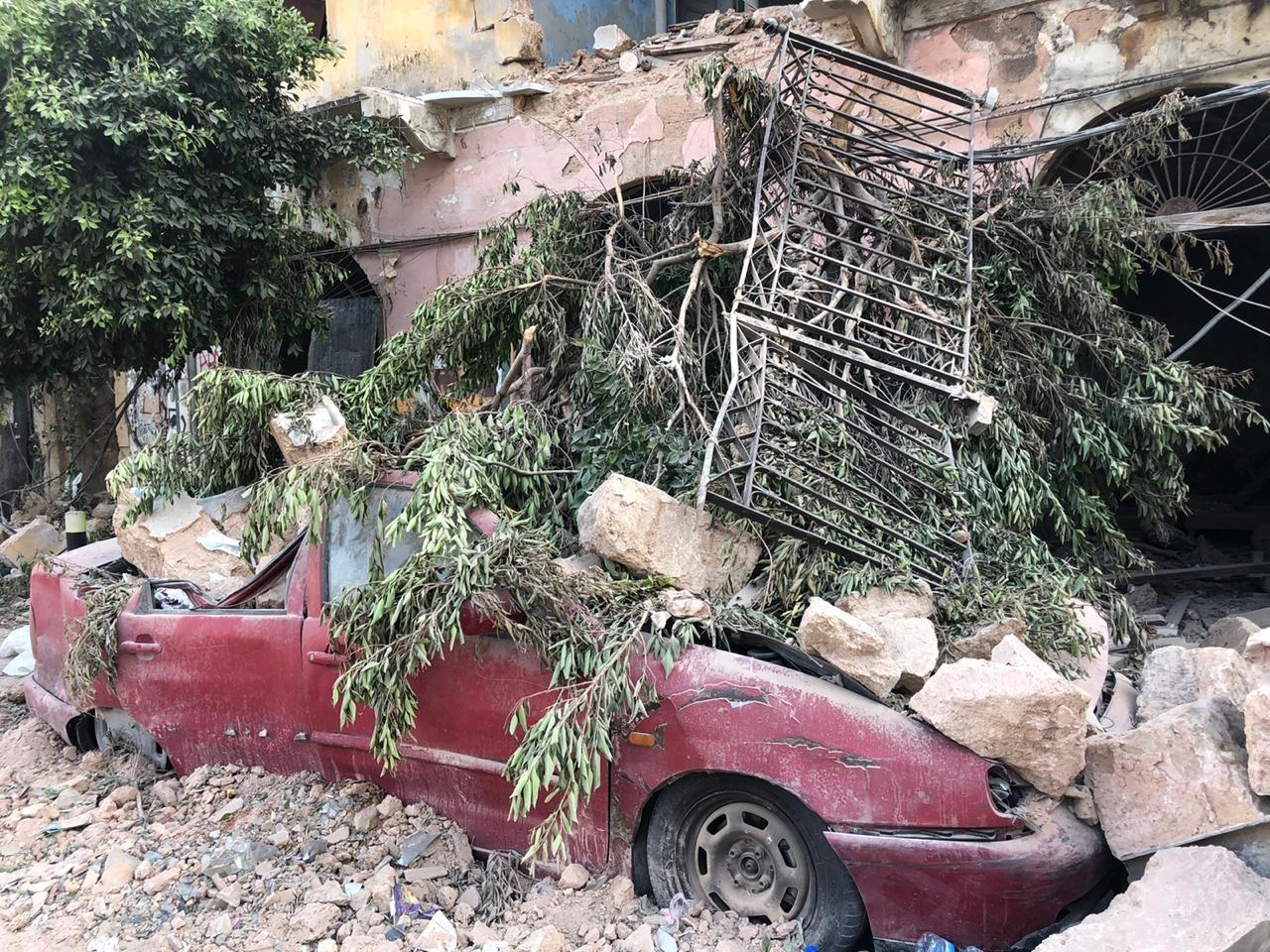 Relief for Beirut Explosion Victims