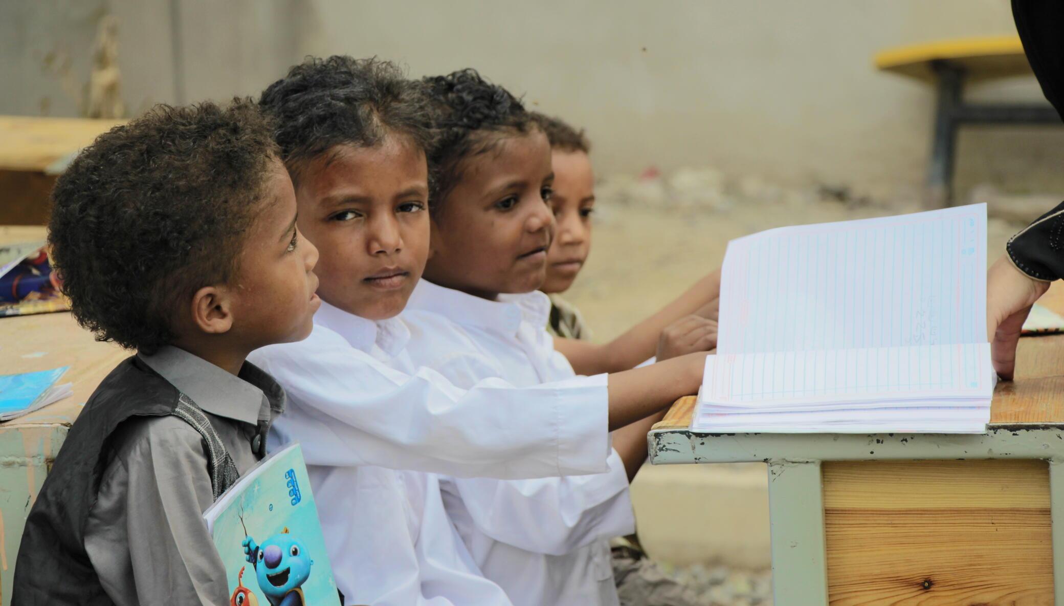 Restore devastated classrooms in Marib, Yemen