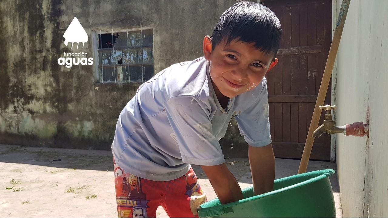 Safe water for 142 children in Argentina