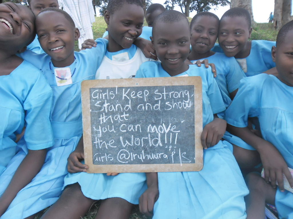 Sanitary Pads Keep Ugandan Girls in School