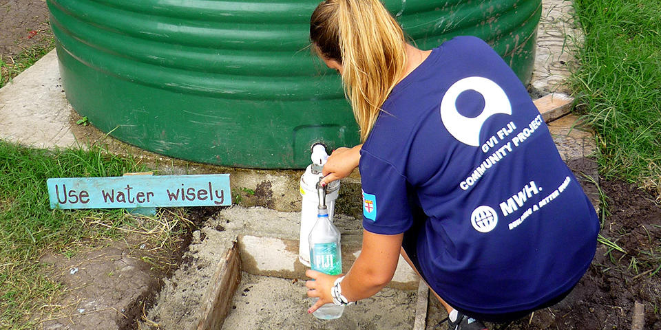 Save A Life with Fresh Safe Drinking Water in Fiji