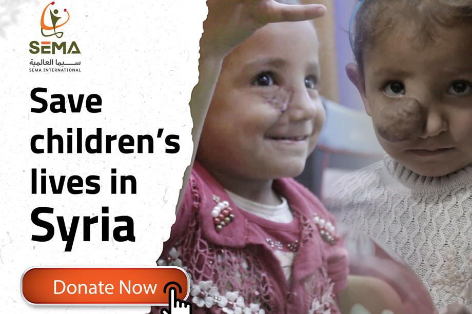 Save children's lives in Syria