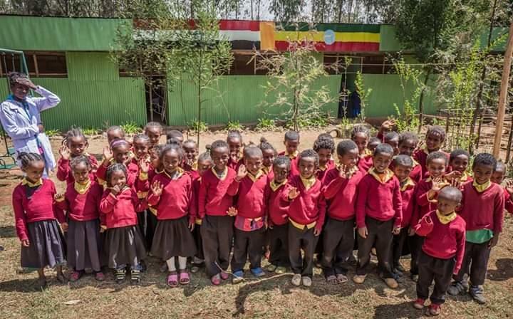 Spirulina for 1000 Malnourished People in Ethiopia