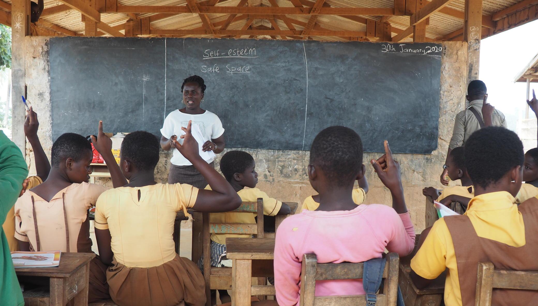 Stop 250 Teen Girls in Ghana from Missing School