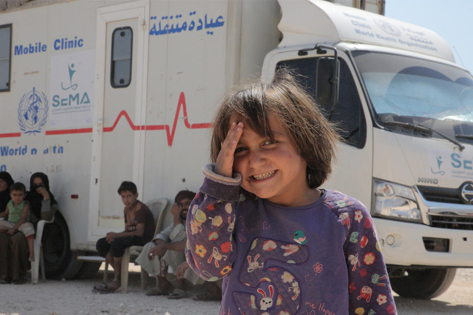 Support Mobile Clinics in Syria