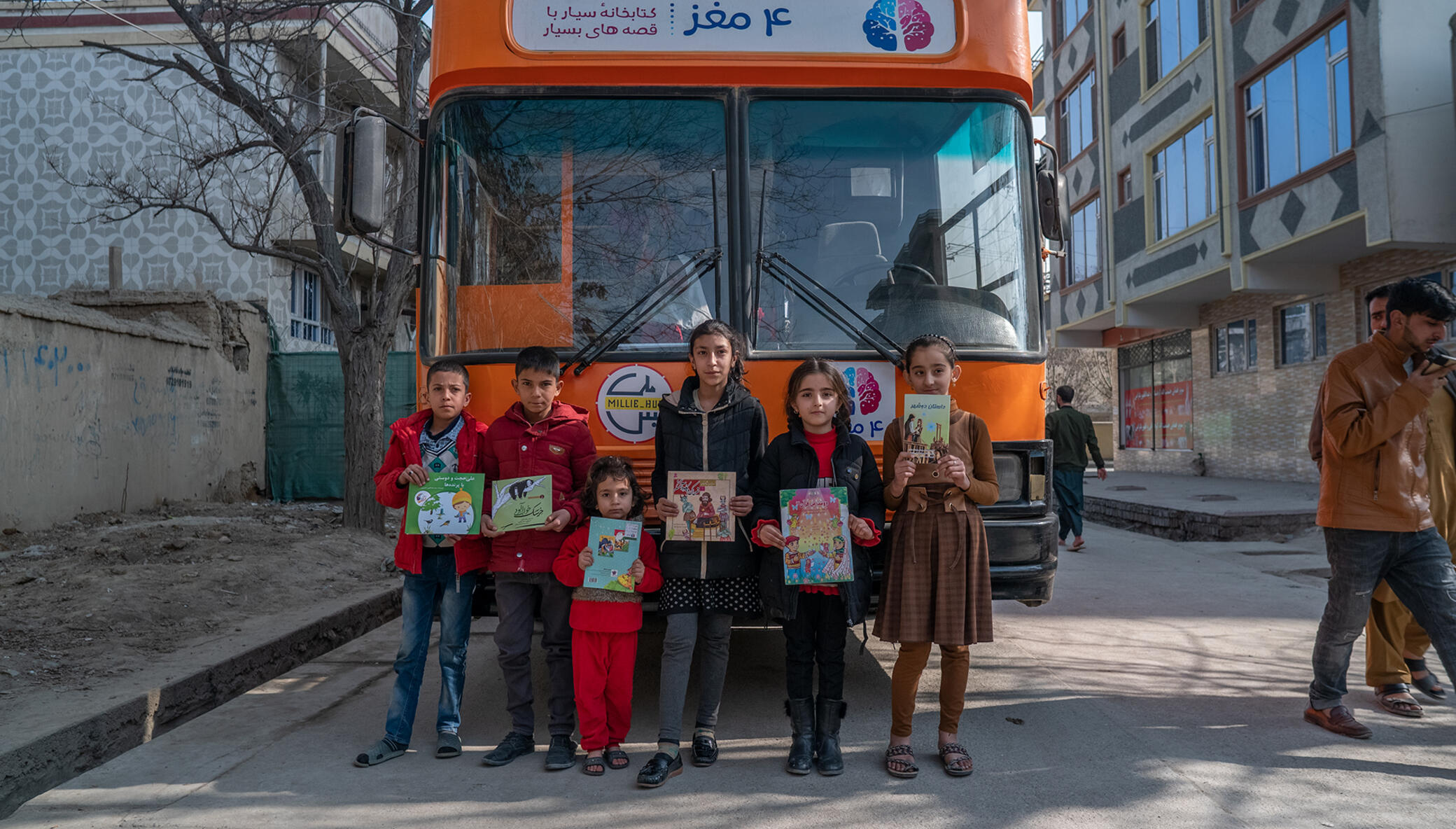 Support Mobile Libraries Reach Children of Kabul