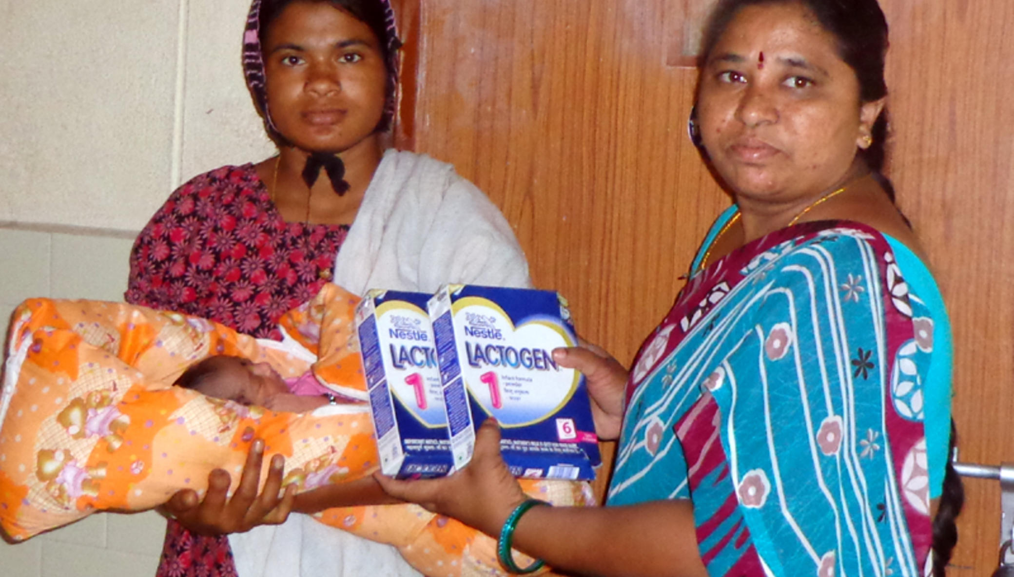 Support pregnant woman in Govt Hosp with nutrition