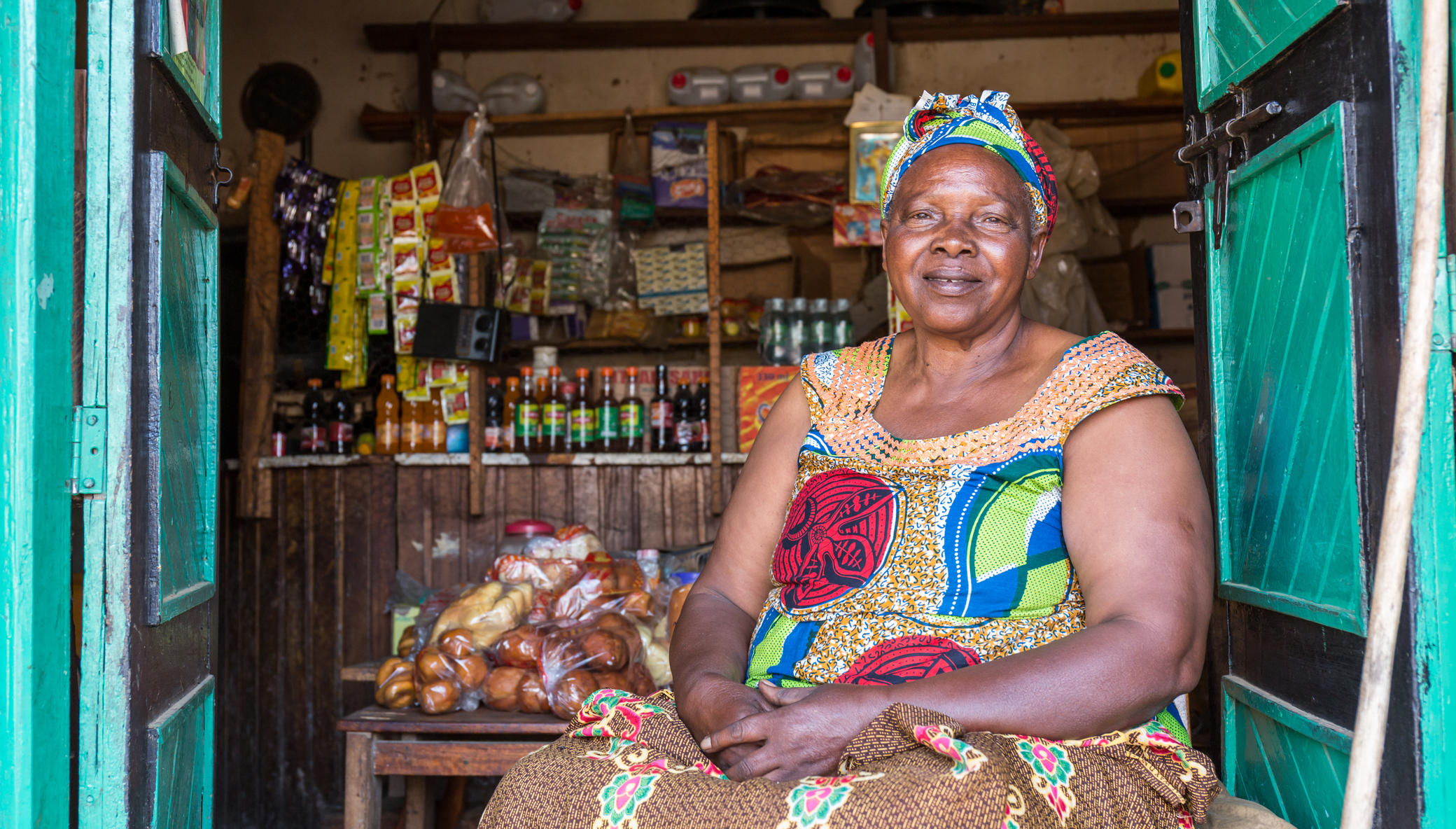 Help 15,000 Ugandan grandmothers care for children