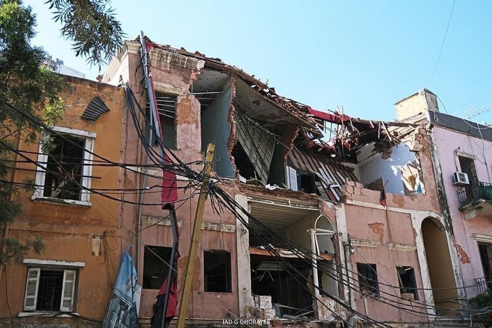 Syrian Refugee -Beirut explosion and COVID 19