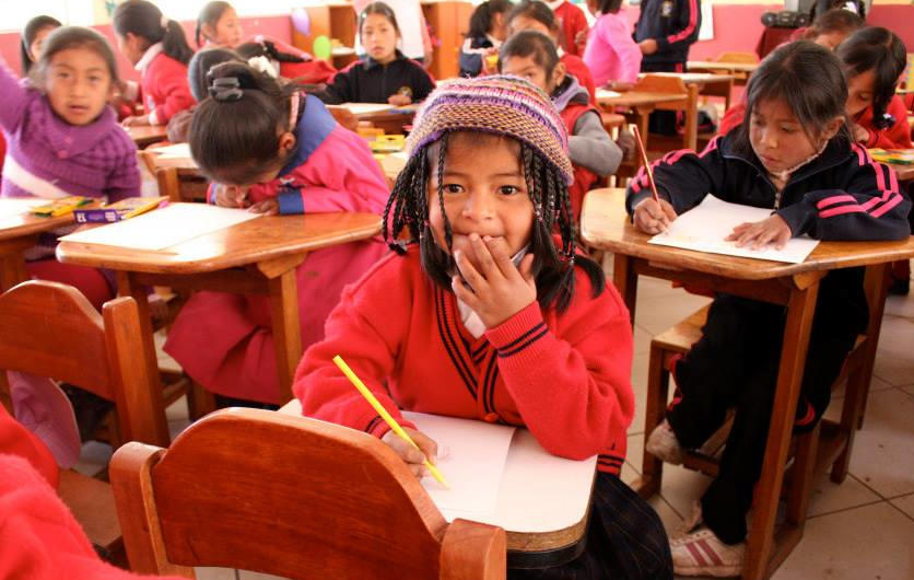TEACHERS are the BACKBONE to EDUCATE GIRLS in Peru